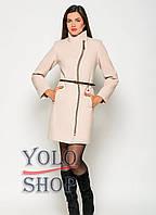 Женское кашемировое пальто № 4 (волна)
