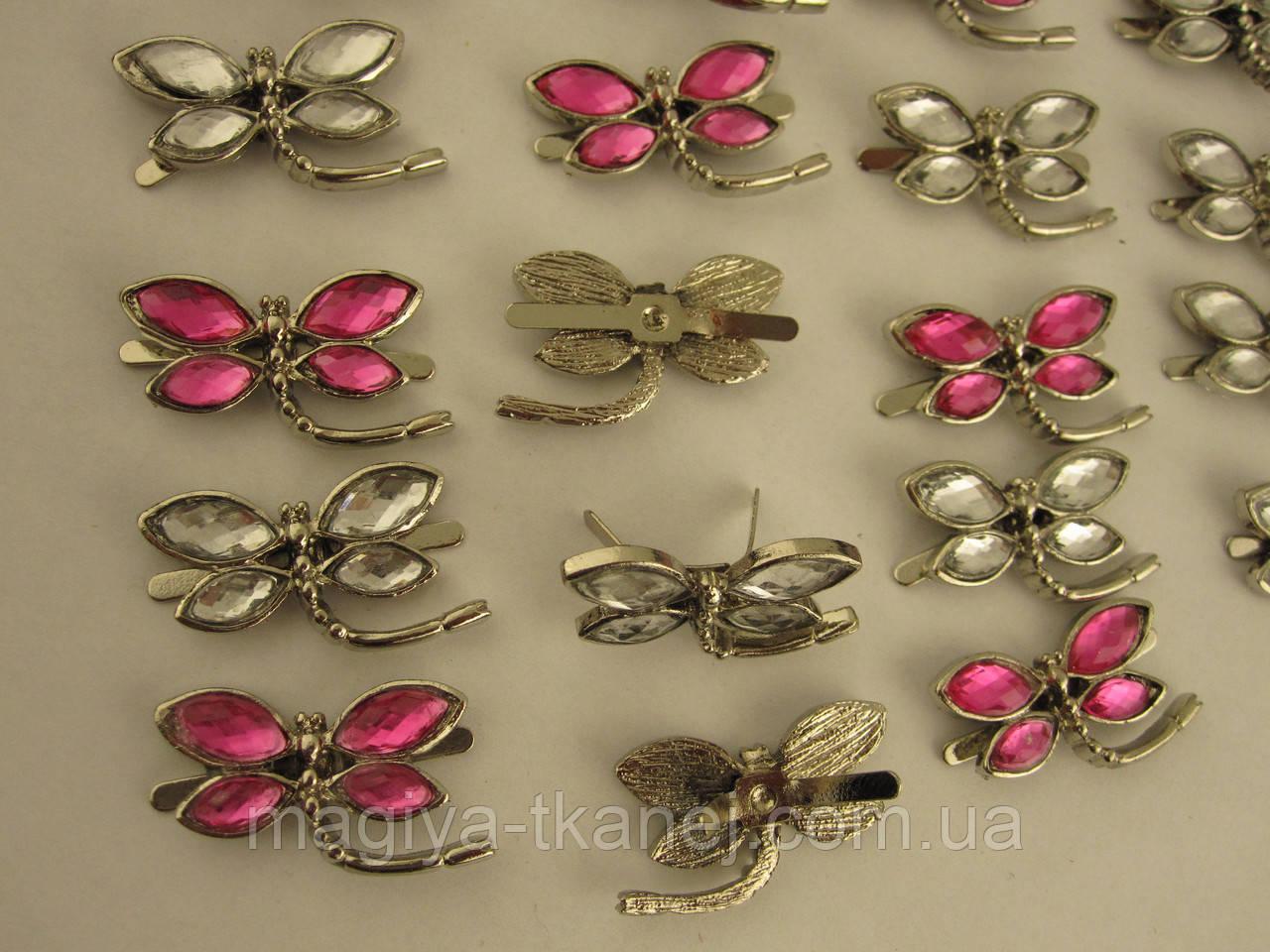 Декор бабочка для одежды