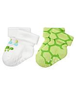 Носочки для новорожденных (2 пары) . 0-3 месяца