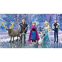 Набор Disney Frozen Анна, Эльза, Олаф, Кристоф, Ханс и Свен Mattel