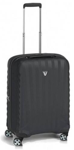 Чемодан малый 4-колесный пластиковый 49 л. Roncato UNO ZSL Premium 5164/01/01 черный