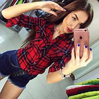 Женские джинсовые шорты с завышенной талией
