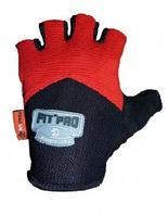 Перчатки атлетические Power System для спорт зала, красные