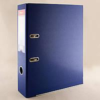 "Папка-регистратор ""Skiper"" A4, 75 мм. синяя 2-х сторонняя"