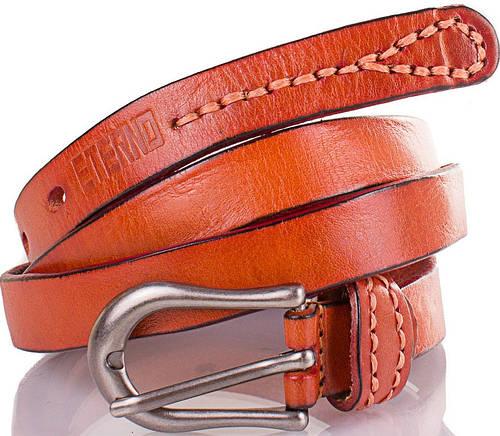 Кожаный женский качественный узкий ремень ETERNO (ЭТЕРНО) ETST09-12