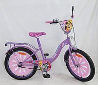 Детский Велосипед двухколесный 18 дюймов 151821 Феи