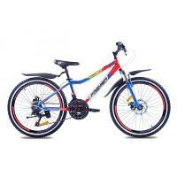 Велосипед Premier Dragon24 Disc 2016 13' синий с красным (ЦБ0000343)
