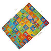 «МАСІК» Развивающий коврик для детей, Алфавит 75х55см