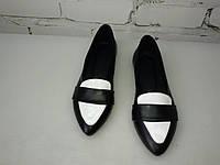 Женские туфли лоферы.