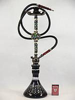 Кальян высокий Premium Hookah, с декоративной шахтой виноград 72см 260608768