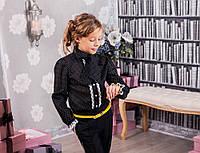 Стильная школьная блузочка MONE р-ры 134,140