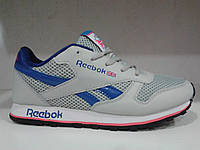 Кроссовки летние белые,верх-сетка.Reebok. р.38-41.