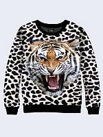 Свитшот Леопардовый тигр