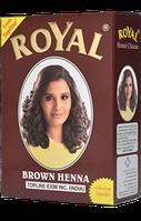 Хна индийская для бровей и волос Royal (тон коричневый)