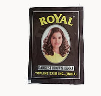 Хна для бровей Royal (тон темно-коричневый