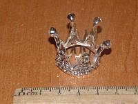 Диадема корона принцессы на гребешке