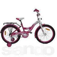 Велосипед детский ARDIS Fashion 20 розово белый
