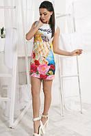 Женское платье с печатью D&G 2016 , фото 1
