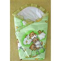Одеяло-Конверт-плед, трансформер на выписку новорожденного