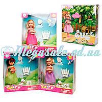 Кукла Defa Happy с собачкой и щенками, 3 вида: аксессуары в комплекте