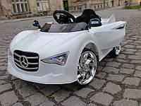 Детский электромобиль CABRIO 2016 белого цвета + 2 ДВИГАТЕЛИ и 2 БАТАРЕИ + ПУЛЬТ ДИСТАНЦИОННОГО УПРАВЛЕНИЯ