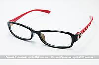 Оправа для очков женская Kai Feng 8089-3. Красные заушники