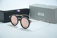 Солнцезащитные очки Thom Browne розовые стекла