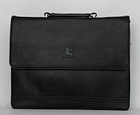 Стильная мужская сумка.Мужской портфель из кожи PU. Сумка с ремнем на плече.Удобная мужская сумка.Код: КТМ266.