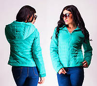 Модная женская куртка весна-осень, разные цвета, от 42 до 48 р-ра