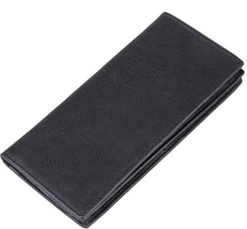 Мужское кожаное портмоне  TIDING BAG 8053A черный