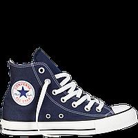 Высокие  синие кеды Converse All Star