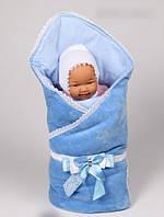 Конверт-одеяло (плед) для мальчика на выписку/в коляску. Весна/Лето