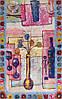 Женский креативный шелковый шарф 170*50,5 ETERNO (ЭТЕРНО) ES2711-15