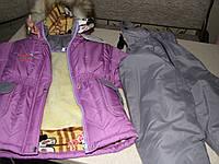 Детский зимний термокомбинезон Зимушка р.80 девочкам сиреневый до -30 мороза