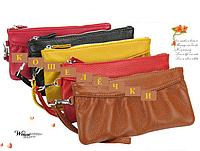 Кожаный женский кошелёк. Кожа. Разные цвета.