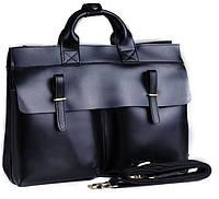 Мужская деловая сумка из натуральной кожи  TIDING BAG t9685