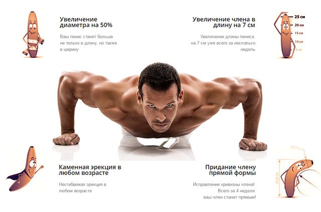 Физ упражнения для увеличения член