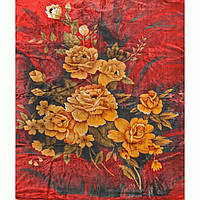 Велюровый плед Lotus Flower 160*200 в подарочном чемодане