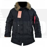 Куртка зимняя Аляска N-3B Black