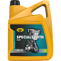 Моторное масло KROON OIL Specialsynth MSP 5W-40 синтетическое для бензиновых и дизельных моторов 5л.KL31256