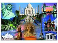 Пазл Educa - Достопримечательности Мира (World Collage)