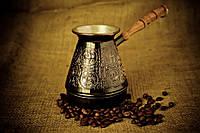 Турка медная для варки кофе Знаки Зодиака 500мл