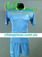 Футбольная форма для команд Adidas Адидас голубая