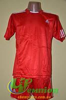 Футбольная форма для команд Adidas Адидас красная