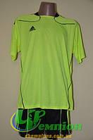 Футбольная форма для команд Adidas Адидас зеленая
