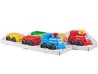 Іграшка Паравоз з вагончиками «Максик» Технок арт. 2339