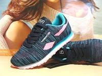 Кроссовки женские для бега BaaS ADRENALINE GTS сине-розовые 36 р.
