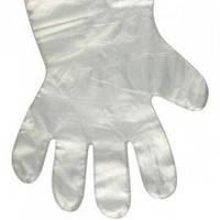 Перчатки одоразовые полиэтиленовые(уп.100шт)мин.кол.10уп.