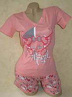 Комплект трикотажный футболка и шорты Nicoletta