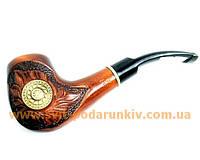 Курительная трубка ручной работы, оригинальный сувенир